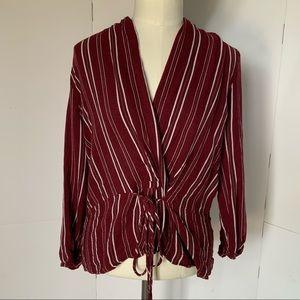 Design Lab | v neck blouse